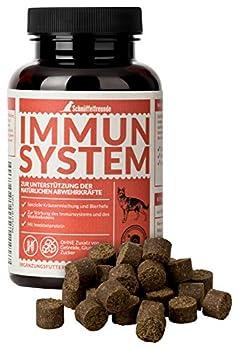 Schnüffelfreunde Immun System   Vitamines et Nutriments pour Chiens - pour Renforcer Les Défenses Naturelles - Fabriqué en Allemagne