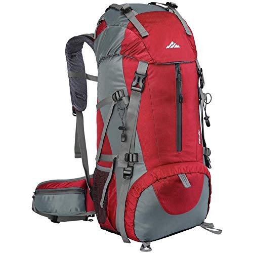 Loowoko Hiking Backpack, 50L Waterproof Travel Backpack Trekking...