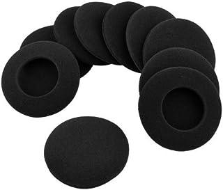 Blacell 10 X Headphone Earphone Foam Ear Pad Earpad Cover 64mm