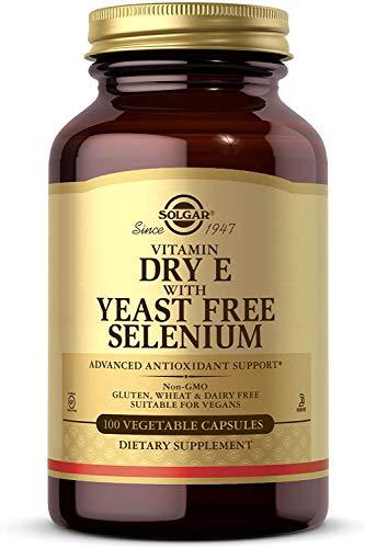 Solgar Vitamina e con Selenio (sin levadura) Cápsulas Veget