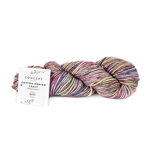 165 m Wolle - 50 g // ca POLYNESIA 77 CONCEPT von Katia PISTACHO CLARO