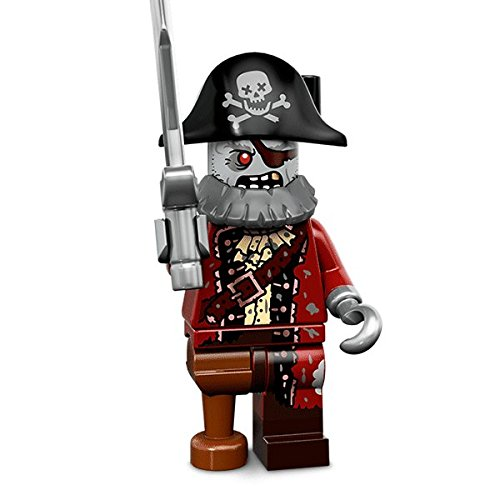 LEGO Minifigures Serie 14 Monstruos – Pirata Zombie Mini Action Figure 71010