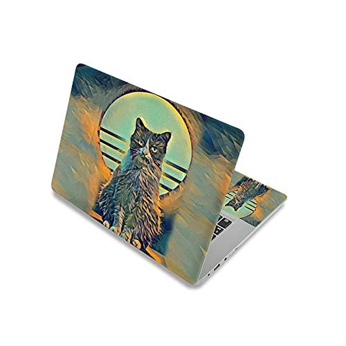 Adhesivo para portátil de 13,3', 14', 15', 15,6', 17', cubierta impermeable para portátil Dell/Lenovo/Asus-Laptop Skin 8-17'