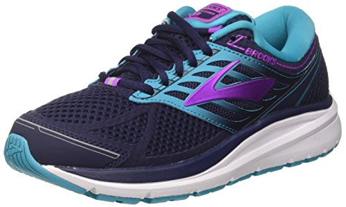 Brooks Addiction 13 Evening Blue/Teal Victory/Purple Cactus Flower 8