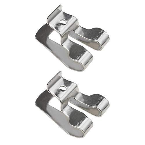 2 ganchos para cinturón de taladro eléctrico compatibles con DeWalt N268241 Driver...