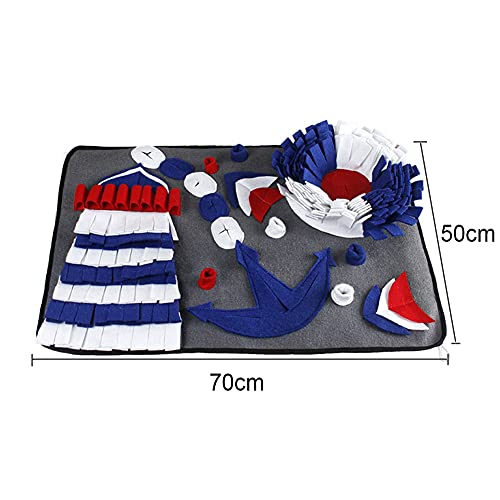MaoLi Pet pad Pet Dog tabacco pad pet pet sniffing formazione coperta rimovibile pile pad pet pad naso pad (colore: 45x45cm)