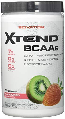 Scivation XTEND BCAA 2: 1: 1-Verhältnis Aminosäure Muskelaufbau Bodybuilding 426g (Strawberry Kiwi - Erdbeere Kiwi)