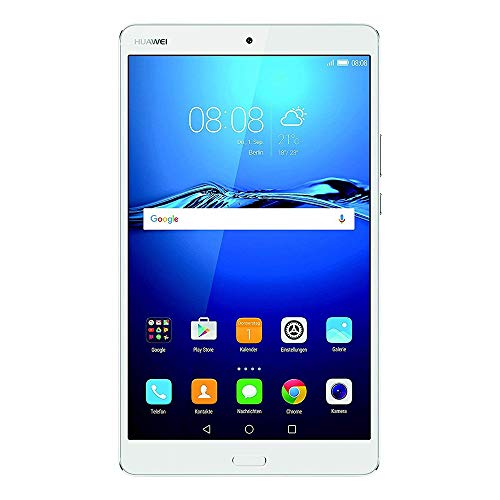 HUAWEI MediaPad M3 21,33 cm (8,4 Zoll) Tablet-PC (WiFi, Fingerabdrucksensor, OctaCore Prozessor, 4 GB RAM, 32 GB interner Speicher, Android 6.0, EMUI 4.1) silber