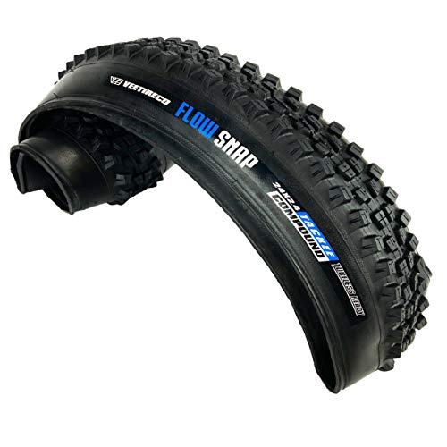 Vee Tire 24x2.40 Flow Snap Bike Tire with Folding Bead, Enduro Core and Tackee Compound 24x2.4 Bike tire