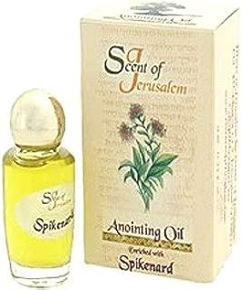 Holy Land Market Spikenard Flower Anointing Oil - Scent of Jerusalem (.32 fl. oz.)