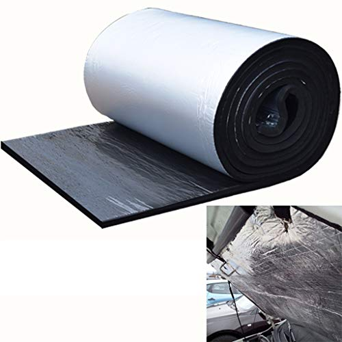 myself Car Sound Insulation Board Film Double Aluminium Bubble Foil Insulation Wall Boat Loft Caravan Home Wall Shed Keep Warm Insulation 5mm/10mm (Length Can Be Customized)