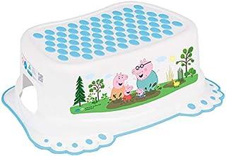 comprar comparacion Taburete Escalón Seguro Antideslizantes Bebé Niños Entrenamiento Baño Bebés Orinal - Peppa Pig Azul