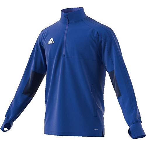 adidas Herren CON18 TR TOP2 Sweatshirt, Bold Blue/Dark Blue/White, M
