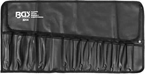BGS 3314   Rolltasche für Werkzeug mit 15 Fächern   660 x 320 mm   leer