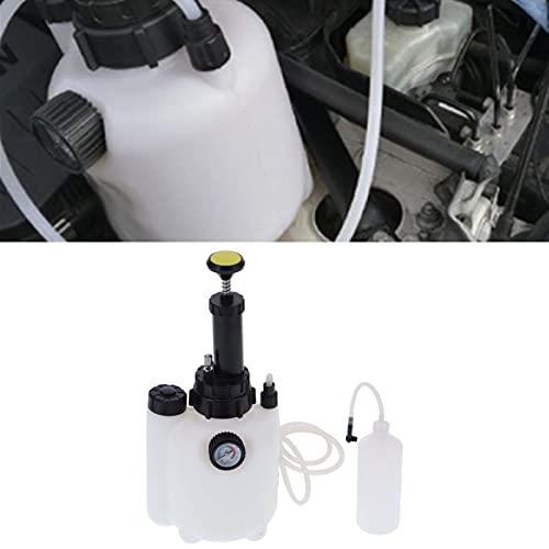 Surebuy Botella de llenado de Aceite, Extractor de líquido Botella dispensadora de Aceite del Motor Cómoda de Usar Bomba Manual Transferencia de líquido para automóvil, Motocicleta