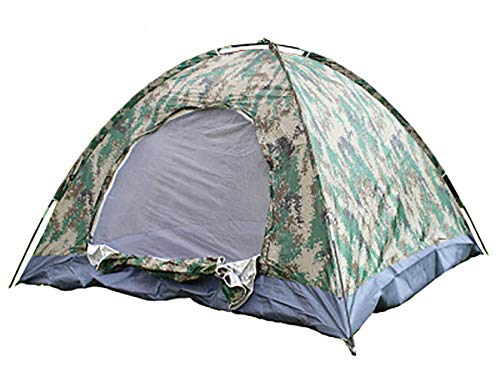 OUYA Explorer Outdoors 3-4 Persons Camouflage Camping Hiking Easy Setup Instant Pop up Tent