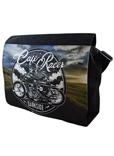 Darkside - Cafe Racer - Umhängetasche - Schwarz