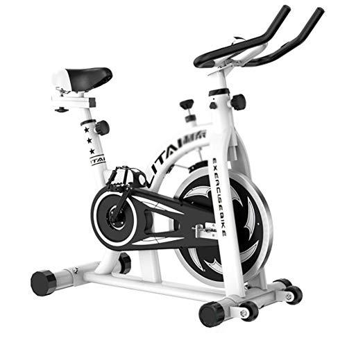 Bicicleta EstáTica EstáTica, Bicicleta EstáTica Spinning Con Disco Inercia 7Kg De Frecuencia CardíAca, Pantalla Lcd, Sensores De Pulso Muy Silenciosos, Bicicleta De Spinning/Fitness Para El Hogar