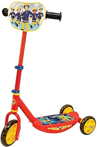 Smoby 750155 - Feuwehrmann Sam Roller, 3 Räder
