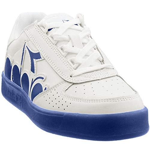 Diadora Mens B.Elite Bolder Casual Sneakers, White, 6
