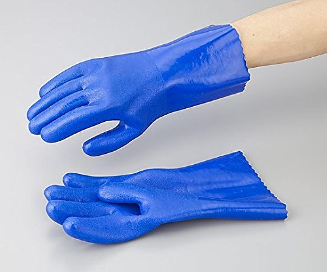 れんが専門化する連合アズワン1-532-01アズセーフ作業手袋PVC製レギュラーXL