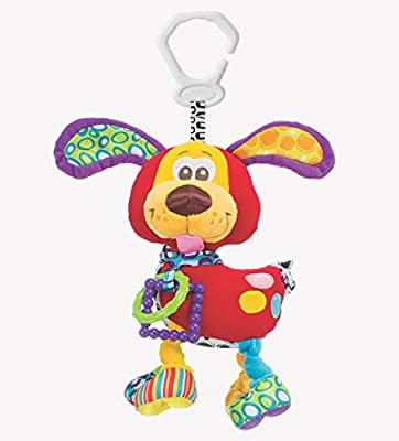 Playgro Baby Toy Activity Friend Pooky Puppy 0181200107 for baby infant toddler children is Encouraging Imagination with STEM/STEAM for a bright future - Great Start for A World of Learning