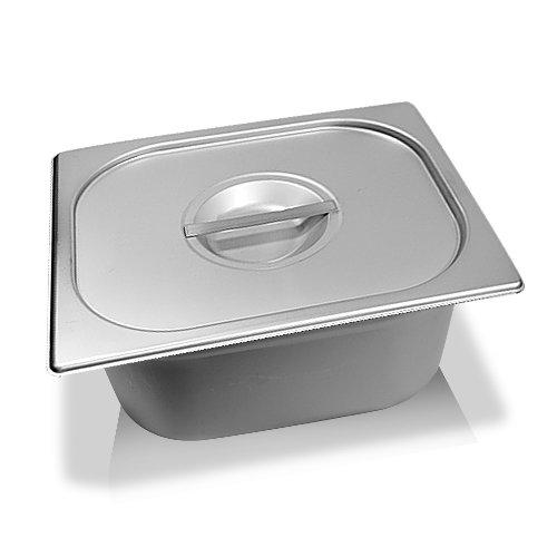 Schengler 1/2 GN-Behälter + Deckel Edelstahl 150 mm tief