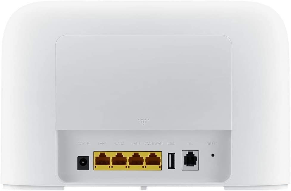 Huawei B715s-23c Router Blanco 4G++ 3CA LTE LTE-A Categoría 9 Gigabit WiFi AC 2 x SMA para Antena Externa B715