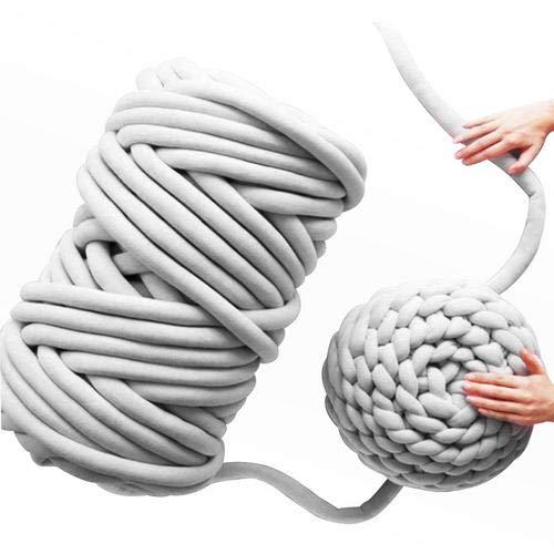 Chunky Wolle Garn Wool Yarn Roving Häkeln DIY Perfekt für Arm Hand Stricken Hobbies,Kunst & Handwerk Nähen,Handgestrickte Werke