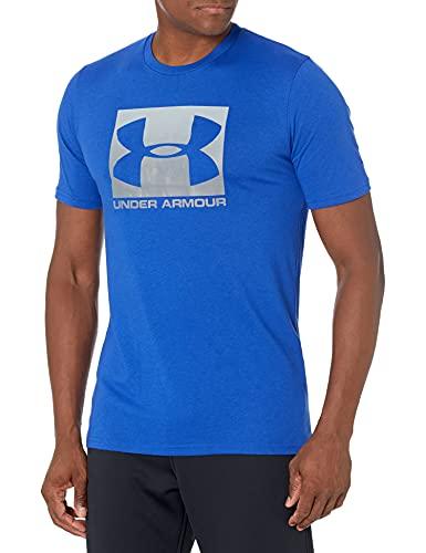 Under Armour Men's Boxed Sportstyle Short-Sleeve T-Shirt , Royal Blue (400)/Graphite , XX-Large