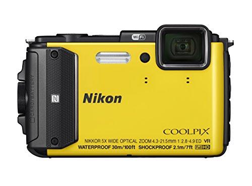 Nikon デジタルカメラ COOLPIX AW130 イエロー YW