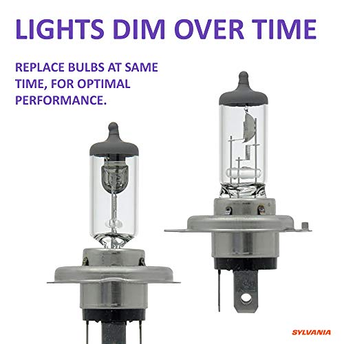 Low Beam and Fog Replacement Bulb Contains 2 Bulbs High Performance Halogen Headlight Bulb SYLVANIA 9003 XtraVision High Beam