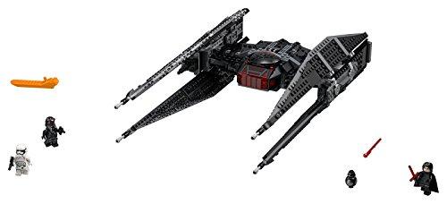LEGO Star Wars Episode VIII Kylo Ren's Tie Fighter 75179 Building Kit (630 Piece)