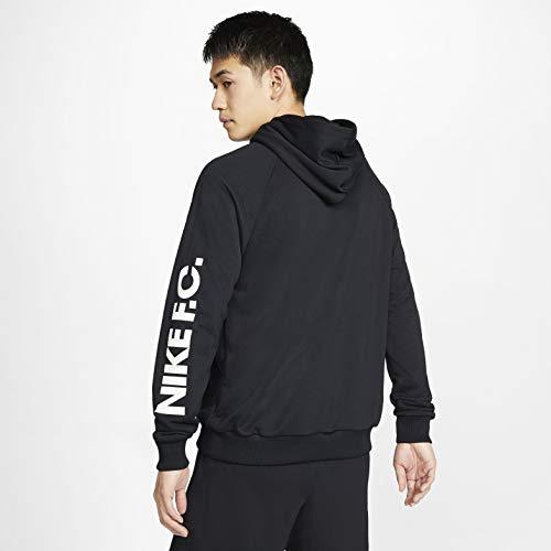 Nike CJ2491 010 F.C. Soccer HO - Sudadera para hombre (talla 2XL), color negro