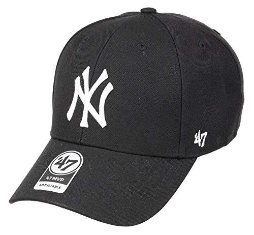 '47 Brand MLB New York Yankees MVP-Berretto da Baseball Unisex - Adulto Nero Taglia Unica