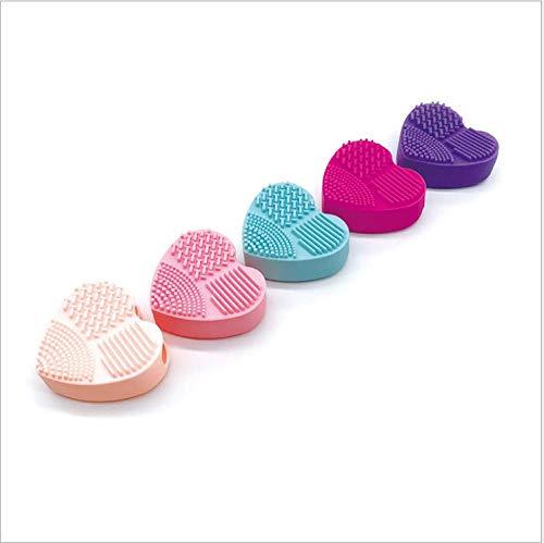 TBBA Silikon-Waschei Schönheit Make-up Pinsel Waschbürste Make-up Pinsel Artefakt 5 Pack