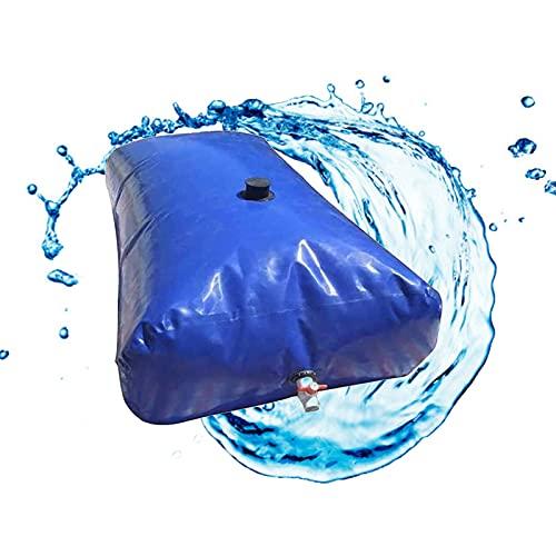 Contenedor de Almacenamiento de Agua de Gran Capacidad, Bolso De Almacenamiento De Agua De Capacidad, Tanque De Agua Ligera Plegable con Grifo, Bolsa De Agua Flexible Al Aire Libre, para (Size:200L)