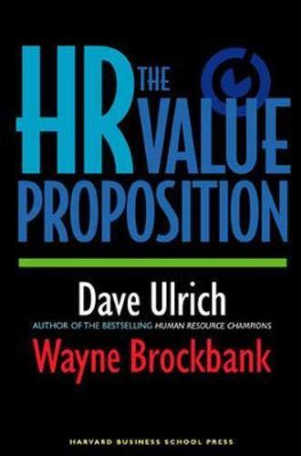 The HR Value Proposition