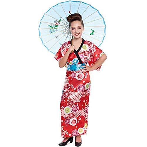 Disfraz Geisha Japonesa Niña Carnaval Mundo (Talla 10-12 años) (+ Tallas)