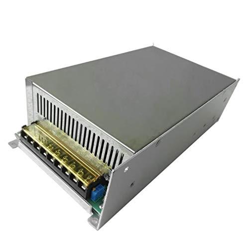 WXZQ 48V 20A 1000W Interruptor Fuente de alimentación Controlador Pantalla Fuente de alimentación conmutada 48v para Tira de luz LED Negro