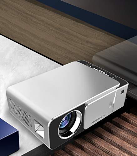 SSSabsir Portable Mini LED Cinema Video Digital HD Home Theater Projector Beamer Projector EU plug