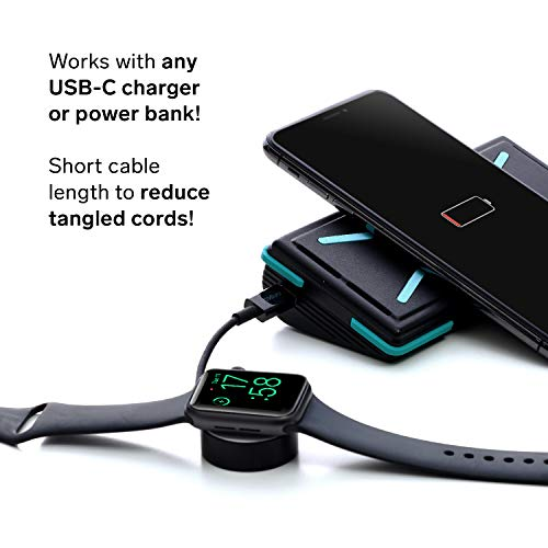Ampere MFi Apple Watch USB-C Charger Magnetic Travel Portable Charging Cable Fast Charging, Made for Apple Watch