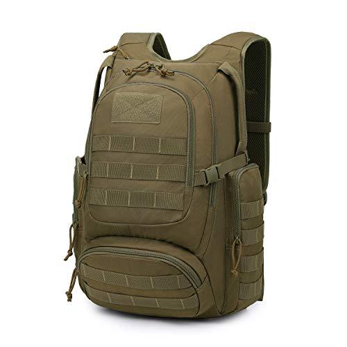 Mardingtop Taktischer Rucksack Militär Rucksack 25L/30L für Herren Damen Molle Assault Pack Motorrad Wanderrucksack Daypack für Outdoor Trekking Jagd Camping