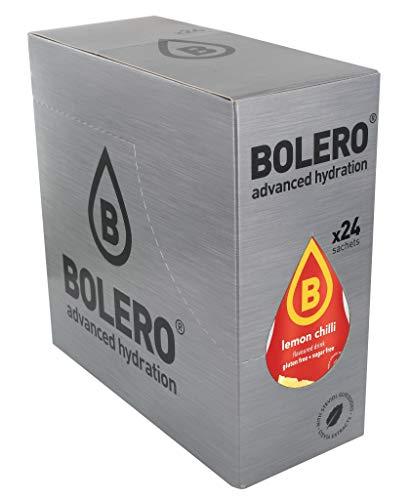 Bolero Bebida Instantánea Sin Azúcar, Sabor Mango Chilli - Paquete de 24 x 9 gramos - Total 216 gramos