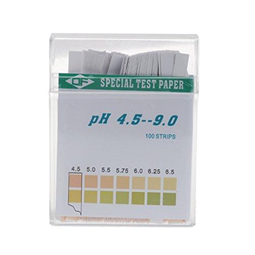 peng 100 Strip 4.5-9 PH Alkalinezuur Indicator Papier Water Speeksel Litmus Testing Kit
