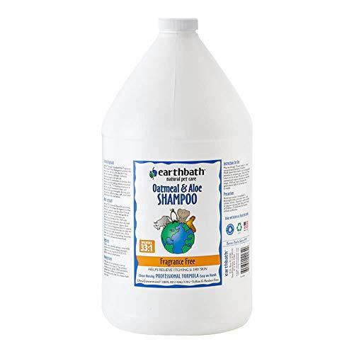 EARTHBATH Shampoo Duft Frei Hund, 3,8l, Hafermehl und Aloe