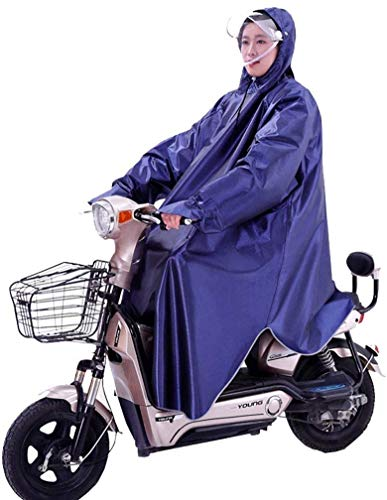 Regenmantel-regenjas met één mouw, motor-regenpak, elektrische fiets-ruiter-volwassen poncho-waterdichte regenjas set regenkleding (kleur: E, maat: XXL)