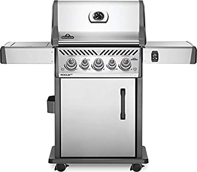 Napoleon RSE425RSIBNSS-1 Rogue SE 425 RSIB Gas Grill, sq. in. + Infrared Side and Rear Burners, Stainless Steel