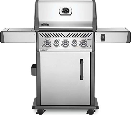 Napoleon RSE425RSIBPSS-1 Rogue SE 425 RSIB Gas Grill, sq. in. + Infrared Side and Rear Burners, Stainless Steel
