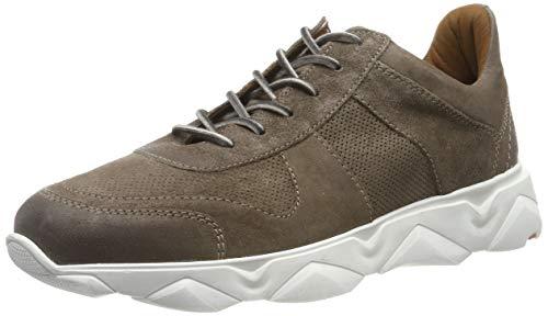 LLOYD Herren ACHILL moderner Sneaker, Braun (Taupe 4), 43 EU